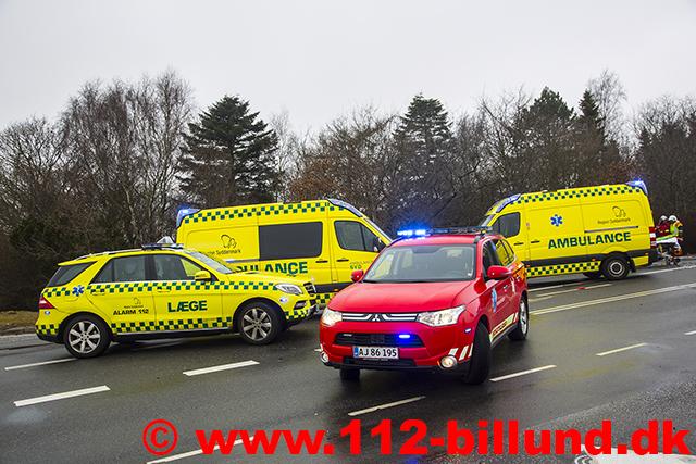 ambulance og politi
